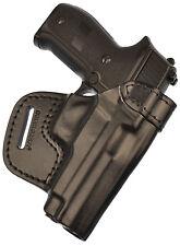 Sig Sauer P226 / P220 waist belt (OWB) gun holster, genuine leather RH #5 bl