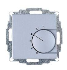Raumtemperaturregler Aluminium, passend f. Gira E2, Gira E3 und Gira Event