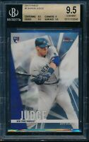 2017 Topps Finest Aaron Judge BGS 9.5 Gem Mint RC Card #2 Rookie NYY Yankees