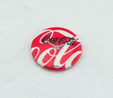 Promo Pinback Coca Cola Button Vintage Pin Swatch Swiss Clock Watch Ad