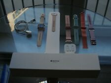 Apple Watch Series 3 38mm Gold Aluminum- GPS+Cellular - Brilliant Condition