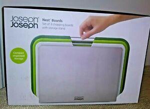 JOSEPH JOSEPH NEST BOARDS GREEN NEW IN BOX!