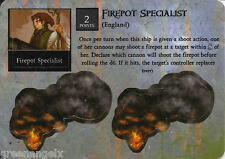 PIRATES OF MYSTERIOUS ISLANDS - 057 ENGLISH FIREPOT SPECIALIST