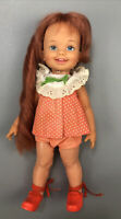 "VTG Ideal Toy Corp Redhead Cinnamon Crissy Family Growing Hair Doll 1970s 12"" AA"