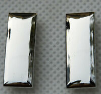 WW2 PAIR OF US ARMY FIRST LIEUTENANT OFFICER RANK INSIGNIA BADGES -32358