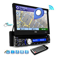"New PLBT73G 7"" TouchScreen GPS Navigation CD MP3 SD/USB Radio Player & Bluetooth"