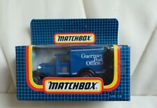MATCHBOX M38 DIECAST  GUERNSEY POST FORD MODEL A ..NEW IN  BOX. RARE.