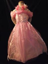Superbe robe  CENDRILLON ROSE avec couronne de fleur - 3/4 ans - neuve