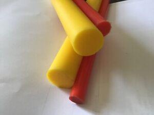 Poliuretano Barra Coche Suspensión Cojinete Material Rojo Yellow 63mm 70mm 76mm