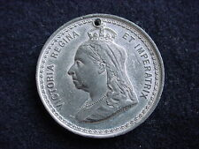 Queen Victoria 1897 60th Anniversary Of Great Britain's Reigning Queen Medal