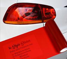 Scheinwerfer Folie Rot Rückleuchten US Rot Tönung 200cm Folie, Rote Folierung