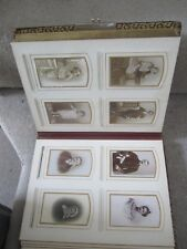 VINTAGE FABULOUS EARLY 20c FRENCH PHOTOGRAPH ALBUM INCLUDING POST MORTEM PHOTO