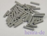 LEGO Technik - 50 x Achse / Kreuzachse 3 Noppen lang hellgrau / 4519 NEUWARE