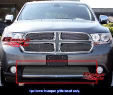Fits Dodge Durango Bumper Billet Grille Grill Insert-Fits 2011-2013