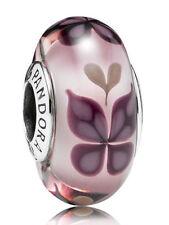 Glass Pink Jewellery Charms by Pandora