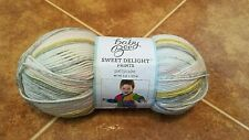 Baby Yarn Sweet Delight Prints Acrylic Blend 3 Light Yarn Pattycake 414