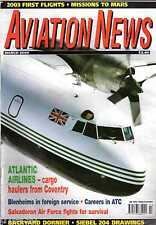 Aviation News 2004 March Atlantic Airlines,Blenheim,Zurich Kloten