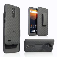For ZTE MAX XL (N9560) / ZTE Blade Max 3 Case with Clip Holster Protective Case