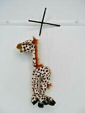 Vintage Giraffe Puppet Soft Plush  B56