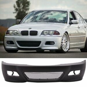 BMW 3 Series 98-06 E46 2dr & 4dr coupe saloon touring conv M3 style front bumper