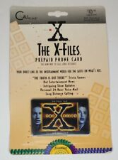 Vintage X-Files Promo Prepaid Phone Card by Frontier
