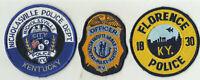 Nicholasville / Lexington / Florence (KENTUCKY) Police Patches