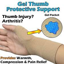 Thumb Joints Support Gel Cushioned Injury Sleeve Arthritis Pain Sore Swelling
