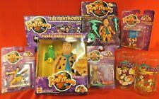 The Flintstones Movie Toys & Action Figures - 1993 - John Goodman - 6 Items