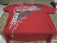 SouthPole Studded T-Shirt - Red - Large