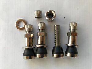 4 x 8,3mm für  PKW BBS RH OZ Alufelgen Silber Metallventile Stahlventile    NEU