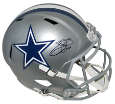 EMMITT SMITH AUTOGRAPHED SIGNED DALLAS COWBOYS FULL SIZE SPEED HELMET PROVA