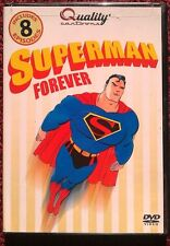 Superman Forever (DVD, 2006) Clark Kent, Louis Lane, Jimmy Olson [8-Cartoons] LN