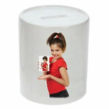 Personalised money box with your Images or text