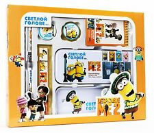 Despicable Me Minions Stationery Set School Educational Birthday Party Gift -A