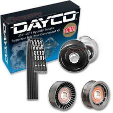 Dayco Serpentine Belt Drive Component Kit for 2011-2014 Hyundai Sonata 2.4L em