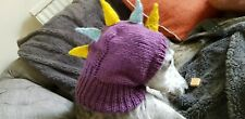 Greyhound,Lurcher,Whippet and other breeds~Handknitted hat~