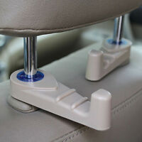 2Pcs Universal Portable Car Auto Seat Hanger Purse Bag Organizer Holder Hook  EB
