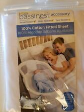 Halo Bassinest 100% Cotten Fitted Sheet