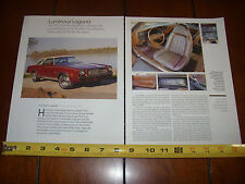 1973 CHEVROLET LAGUNA - ORIGINAL 2013 ARTICLE