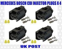 Mercedes Bosch Fuel injector Seal 6110170060 Std Cdi Common Rail GERMAN 1.5mm x4