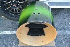 "PEARL SESSION CUSTOM GREEN BURST 22"" BASS DRUM SHELL for YOUR DRUM SET! #K319"