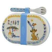 Disney Enchanting Collection Simba Organic Snack Box with Cutlery Set A28980