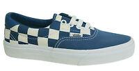 Vans Off The Wall Era Checkerboard Lace Up Blue Unisex Plimsolls ZMSFBS Vans B