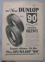 1935 Dunlop Tyres Original advert No.2