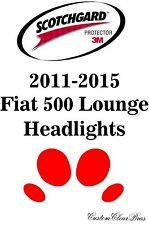 3M Scotchgard Paint Protection Film Pre-Cut Headlights 2011 2015 Fiat 500 Lounge