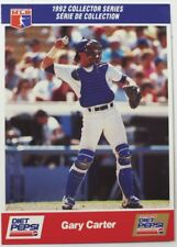 1992 Gary Carter Diet Pepsi Collector's Series Card # 12 of 30