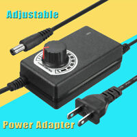 3-12V 2A 24W Adjustable Switching Power Adapter Motor Speed Controller