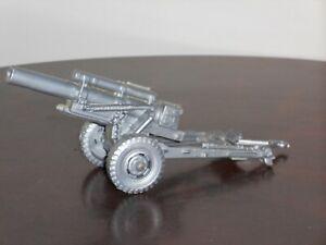 Vintage Marx Battleground German HOWITZER Gray Plastic Field Artillery