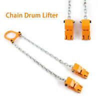 2000 lbs Chain Drum Lifter Yellow Fiber Durable Strongway Lift Chain Sling