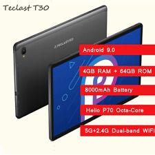 "Teclast T30 10.1"" Android 9.0 Octa Core 4GB 64GB 8MP 8000mAh GPS WiFi 4G Phablet"